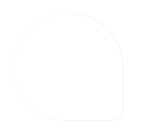 talk to the right people